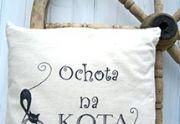 Poszewka Dekoracyjna z Napisem