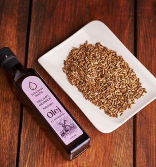 Naturalny olej z ostropestu tłoczony na zimno