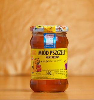 Miód nektarowy wielokwiatowy (lipcowy), 380g