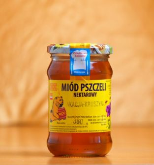 Miód nektarowy wielokwiatowy (akacja-kruszyna), 380g