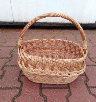 Koszyk podstawowy z wikliny