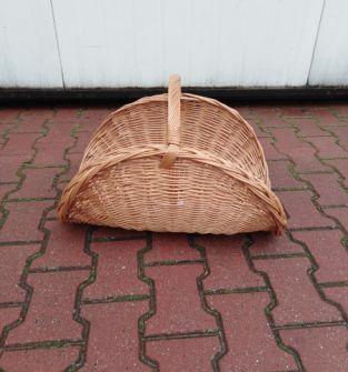 Koszyk kominkowy z wikliny
