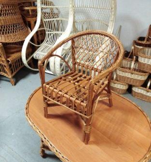 Fotelik z wikliny