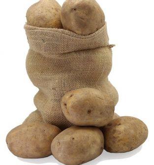 Sprzedaż ziemniaków jadalnych.