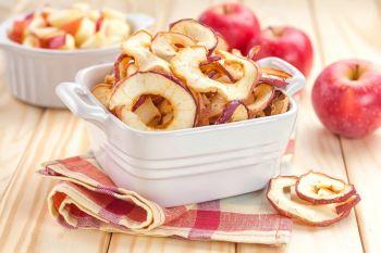 Suszone jabłka