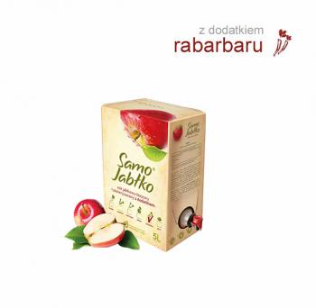 Sok jabłkowy 5l z dodatkiem soku owocowego, warzywnego lub przypraw