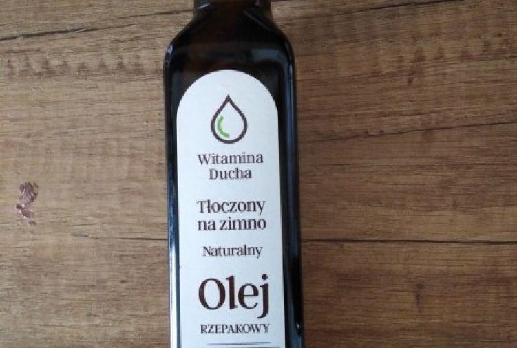 Olej roślinny zimnotłoczony
